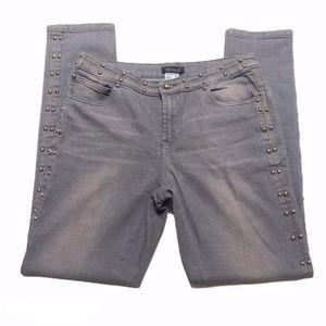 Venus Studded Grey Pants 0334